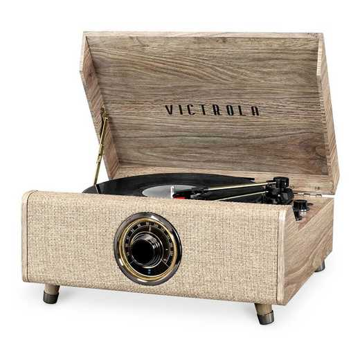 VTA-330B-FOT: IT Victrola's 4in1 Highland BT RP with Turntable and FM- Fot