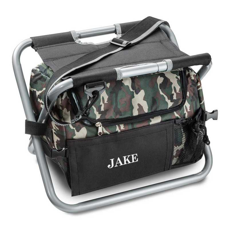 GC1102: Personalized Camoflauge Sit 'n' Sip Cooler Chair