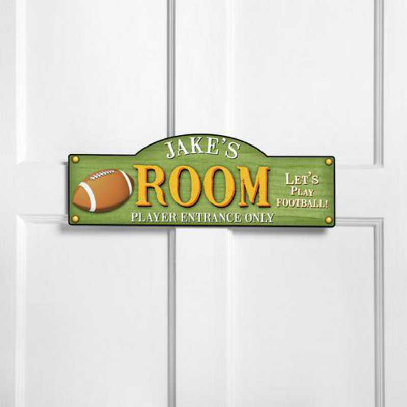GC749 TOUCHDOWN: JDS THEMED ROOM SIGN TOUCHDOWN-PERS