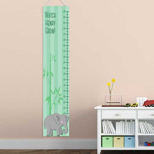 GC925 ELEPHBOY: JDS BOY ELEPHANT GROWTH CHART-PERS
