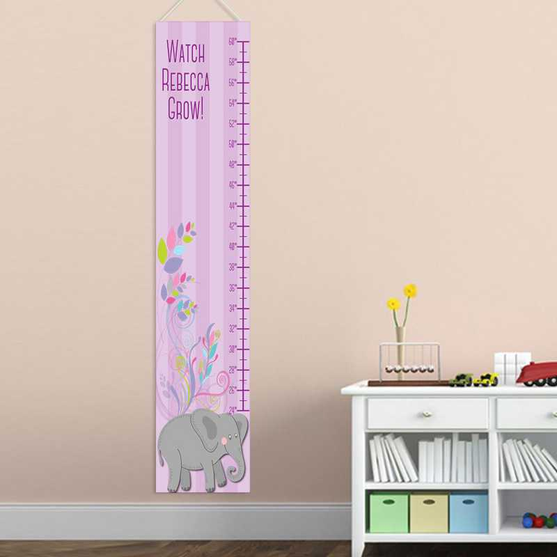 GC925 ELEPHGIRL: JDS GIRL ELEPHANT GROWTH CHART-PERS