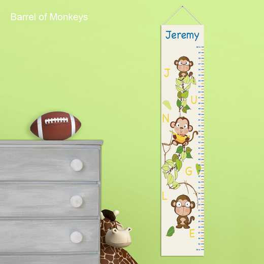 GC925 MONKEYS: JDS MONKEYS GROWTH CHART- PERS