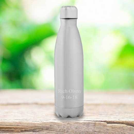 GC1567 2Lines: Personalized SS Double Wall Insulated Water Bottle