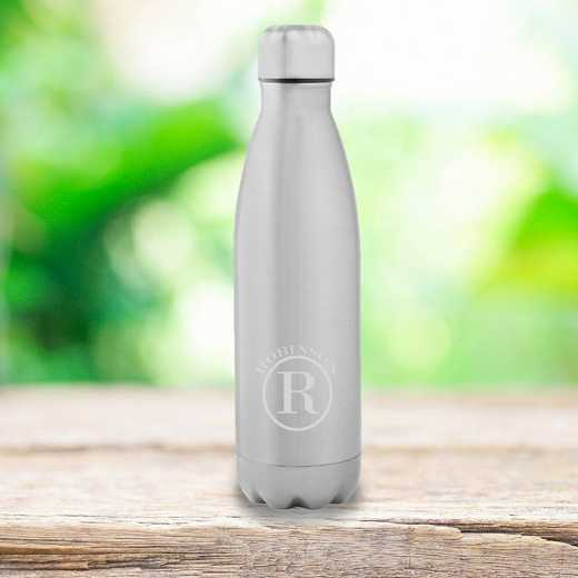 GC1567 Circle: Personalized SS Double Wall Insulated Water Bottle