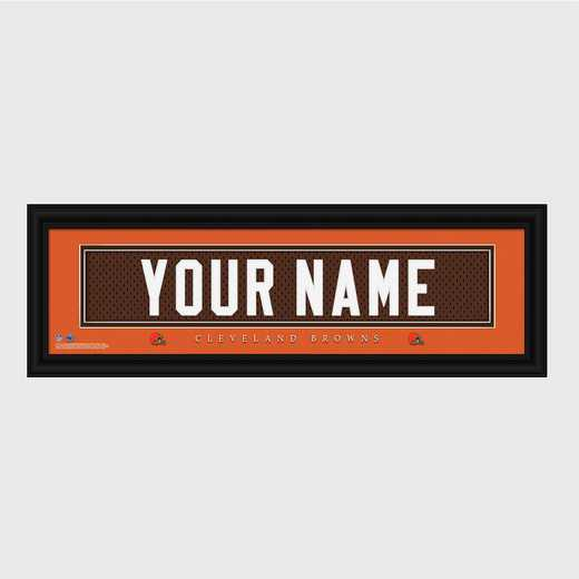 GC1336 Browns : JDS Pers Wall Art - NFL - Stitched Letters - Team Print