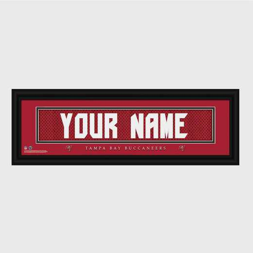 GC1336 Bucaneers : JDS Pers Wall Art - NFL - Stitched Letters - Team Print