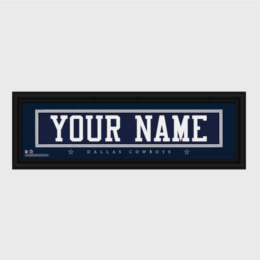 GC1336 Cowboys : JDS Pers Wall Art - NFL - Stitched Letters - Team Print