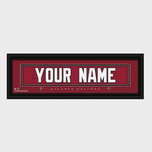 GC1336 Falcons : JDS Pers Wall Art - NFL - Stitched Letters - Team Print