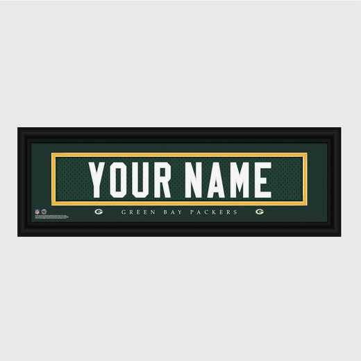 GC1336 Packers : JDS Pers Wall Art - NFL - Stitched Letters - Team Print