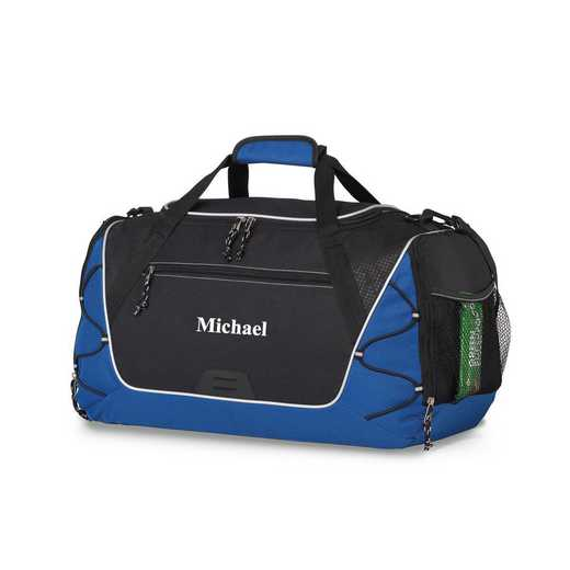 GC1527 Blue: Sports Duffel Bag