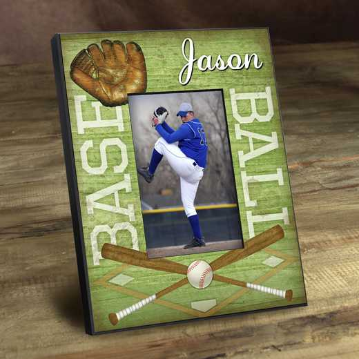 GC762 BASEBALL: Personalized Kids Sports Frames