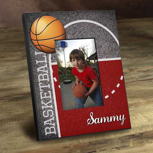 GC762 HOOPS: Personalized Kids Sports Frames