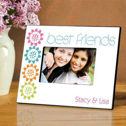 GC858 BFFPEONIES: Personalized Forever Friends Friendship Frame