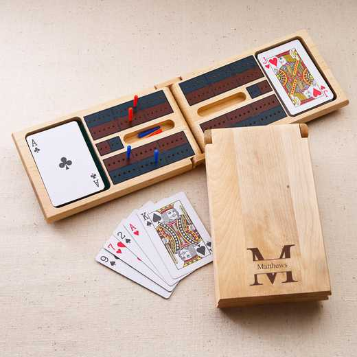 GC1126 Stamped: Personalized Cribbage Board Game Stamped
