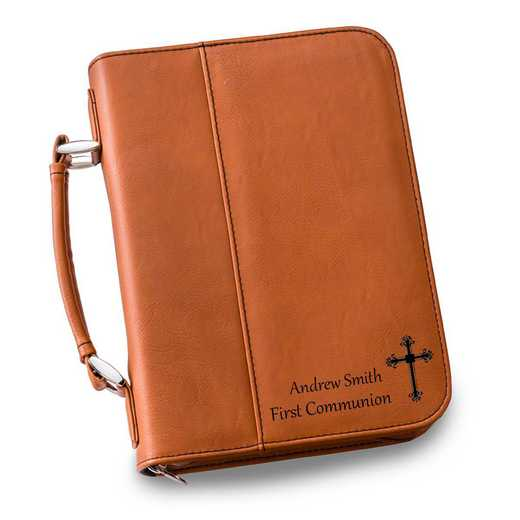 GC1441 Rawhide: Personalized Large Bible Case RAWHIDE