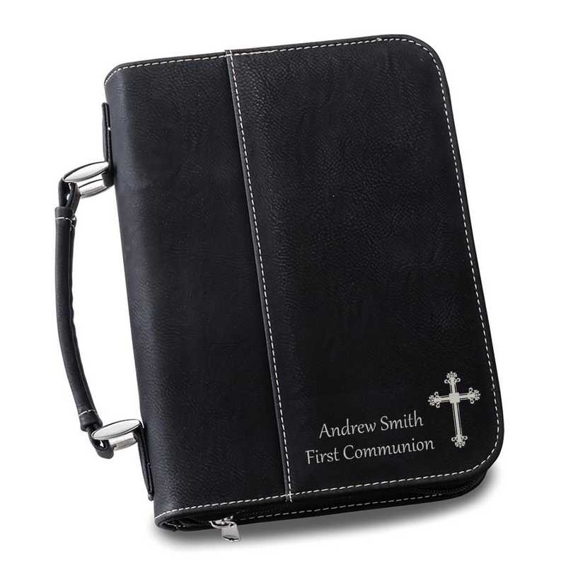GC1442 Black : Personalized Small Bible Case BLK