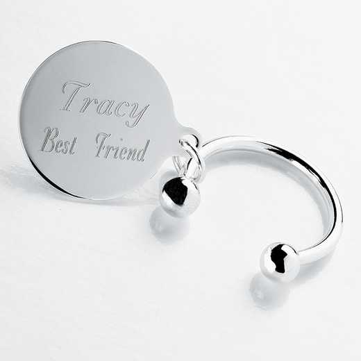 "GC198: Personalized ""Tiffany Style"" Keychain"