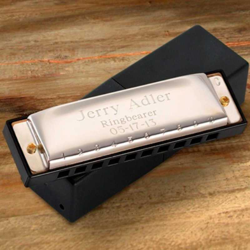 GC414: Personalized Stainless Steel Harmonica