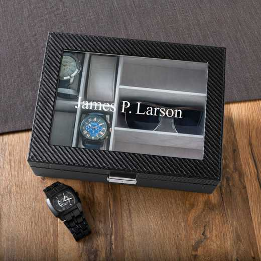 GC1372: Personalized Men's Watch & Sunglasses Box