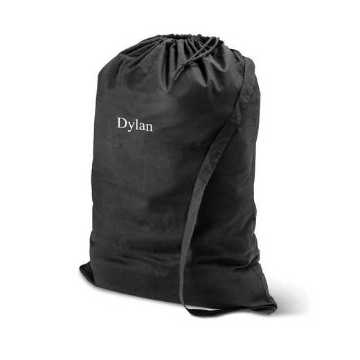 GC1438 BLACK: Personalized Laundry Bag