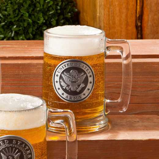 GC1221 Army: Personalized Army Emblem Steins: Men's