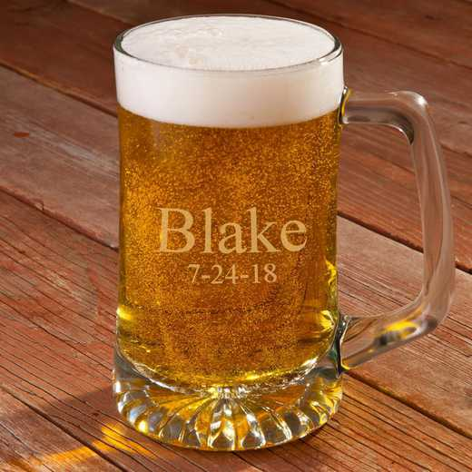 GC117: Personalized 25 oz. Sports Mug: Men's