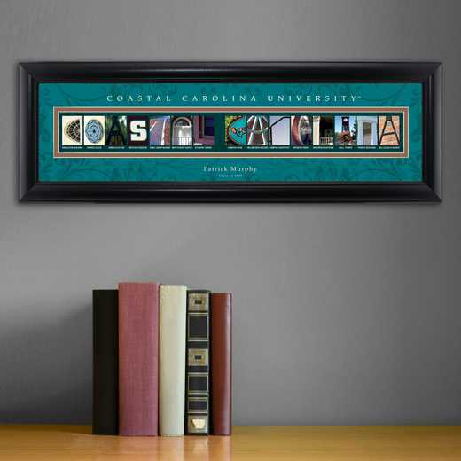 GC1068 COASTCAROL: PERSONALIZED ARCHITECTURAL ART, COASTAL CAROLINA