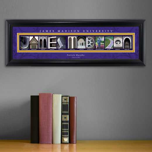 GC1068 JMADISON: PERSONALIZED ARCHITECTURAL ART, JAMES MADISON