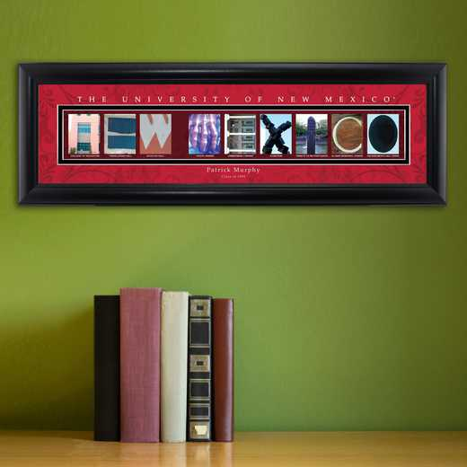 GC1068 NMEXICO: PERSONALIZED ARCHITECTURAL ART, NEW MEXICO