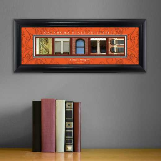 GC1068 OKLAHOMAST: PERSONALIZED ARCHITECTURAL ART, OKLAHOMA ST