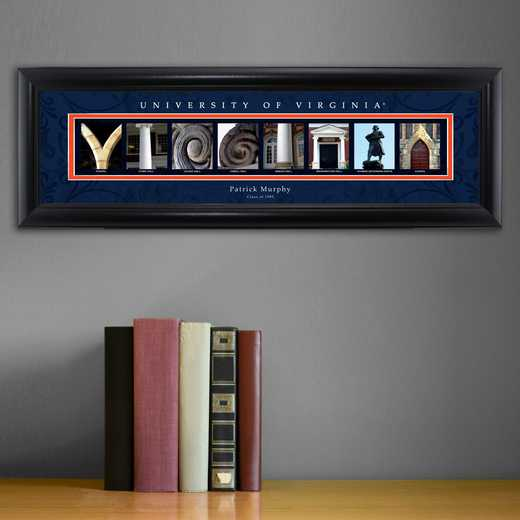 GC1068 VIRGINIA: PERSONALIZED ARCHITECTURAL ART, VIRGINIA