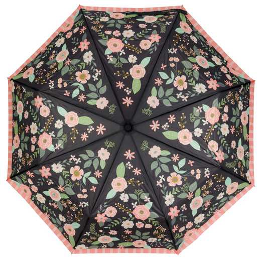 KA301838: Karma Travel  Umbrellas Charcoal Flower