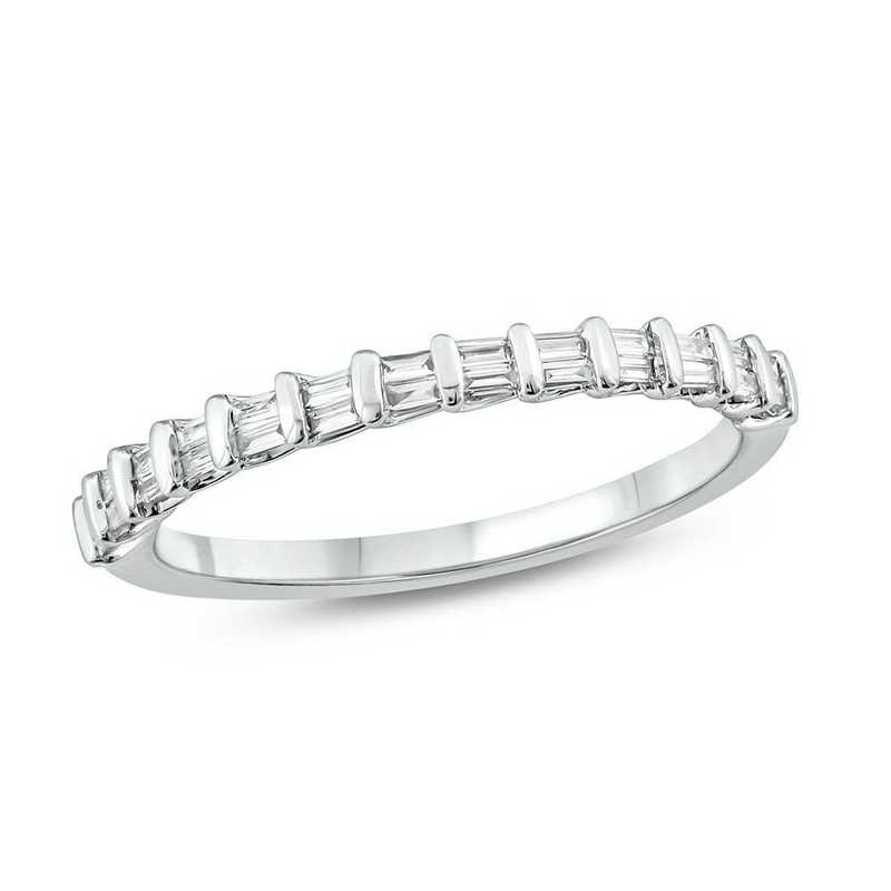 1/6 CT. T.W. Diamond Ring in 10K White Gold