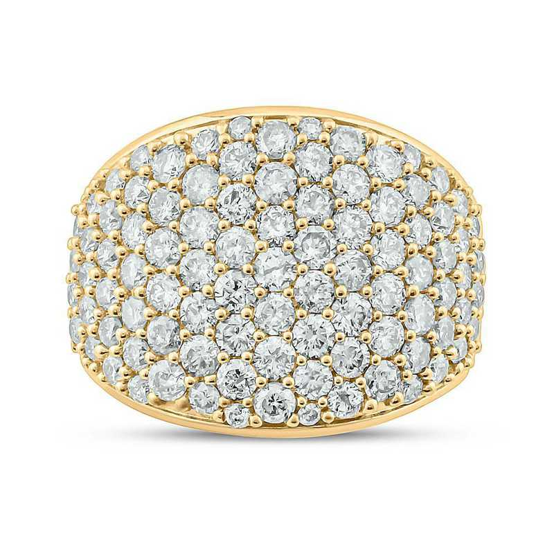 2 1/2 CT. T.W. Diamond Ring in 10K Yellow Gold