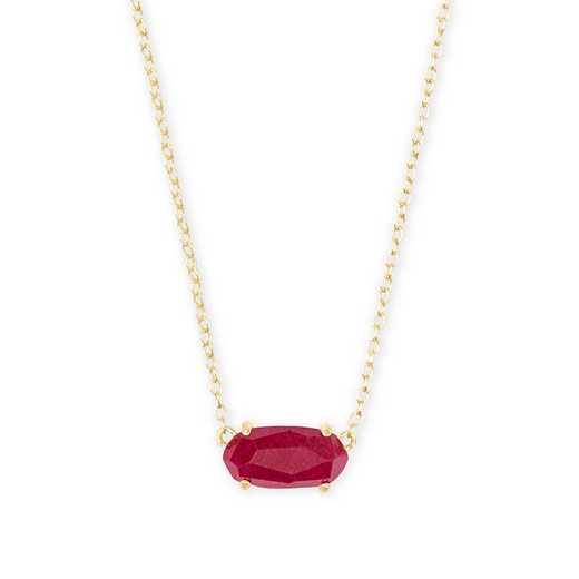 4217701788: EVER NECKLACE GOLD - MAROON