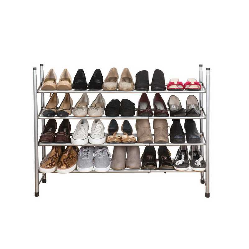 23208: KEN  4 Tier Expandable Shoe Rack