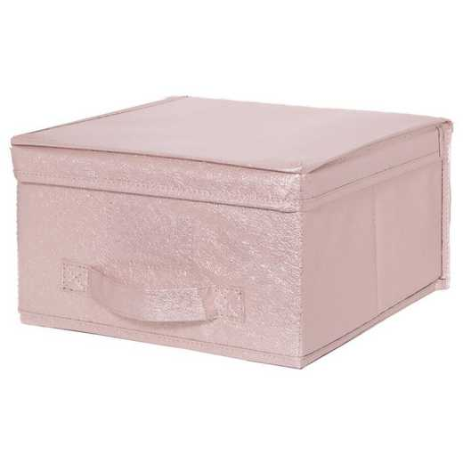 25400-BLUSH: KEN  Metallic MEDStorage Box in Blush