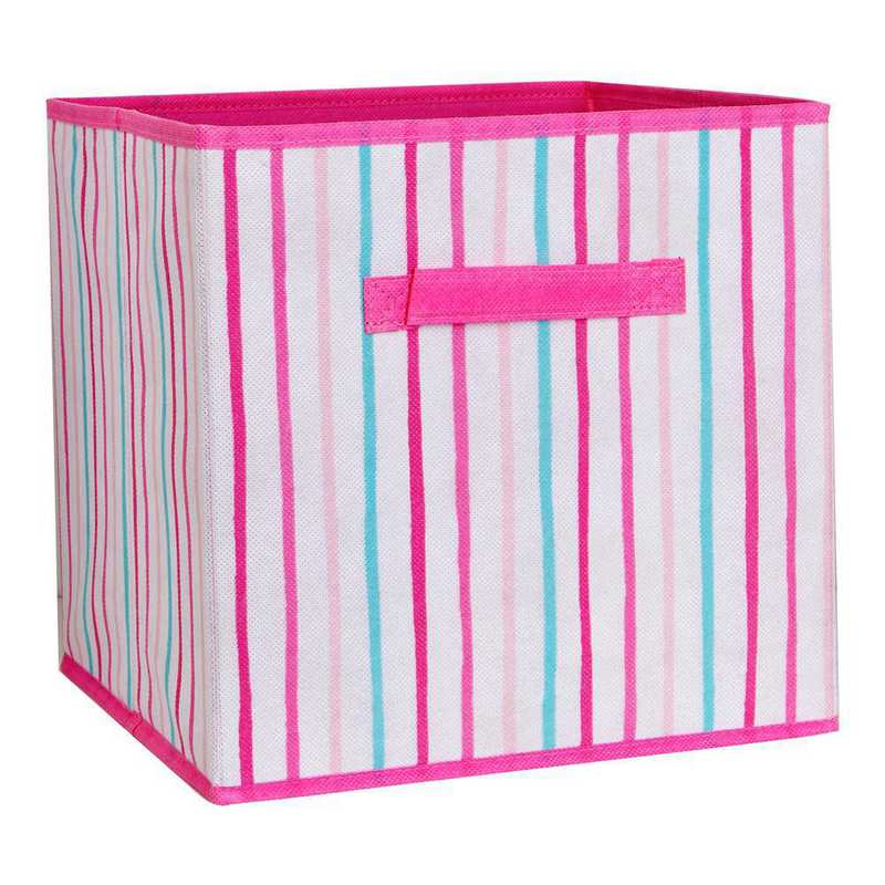 LA-95792: KEN Kids Collapsible Storage Cube in Painterly Pink