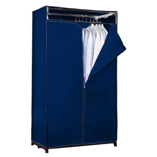 "4062-NAVY: PORTABLE CLOSET 36"" NAVY"