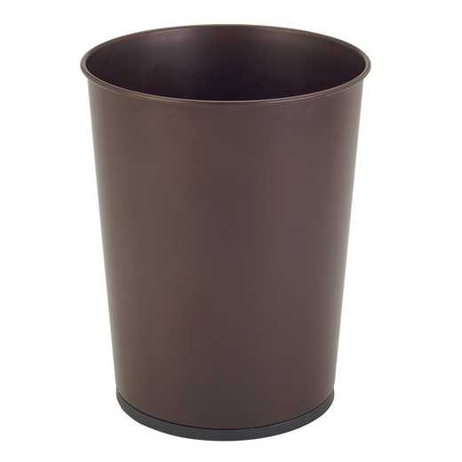 4930-RUST: KEN 5L TRASH BIN - RUST OPEN TOP
