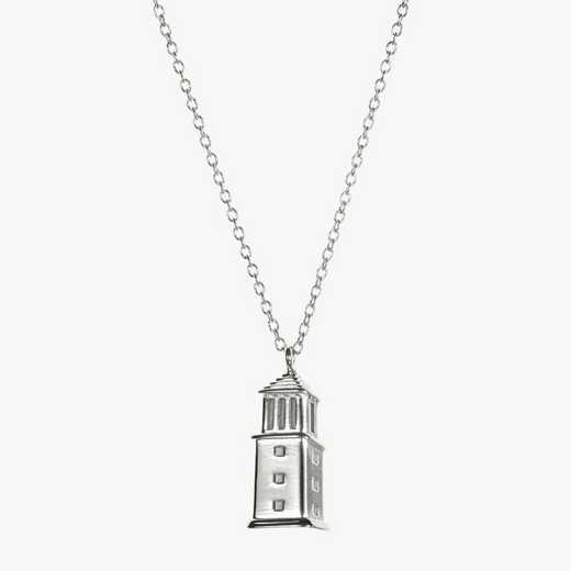 AL0206: Sterling Silver Alabama Denny Chimes Necklace by KYLE CAVAN