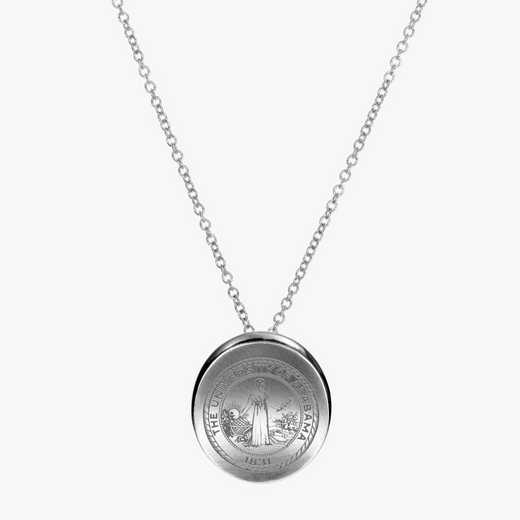 AL0112: Sterling Silver Alabama Organic Necklace by KYLE CAVAN