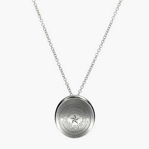 BAY0112: Sterling Silver Baylor Organic Necklace by KYLE CAVAN