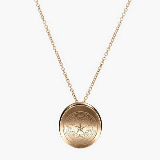 BAY0113AU: 14k Yellow Gold Baylor Organic Necklace by KYLE CAVAN