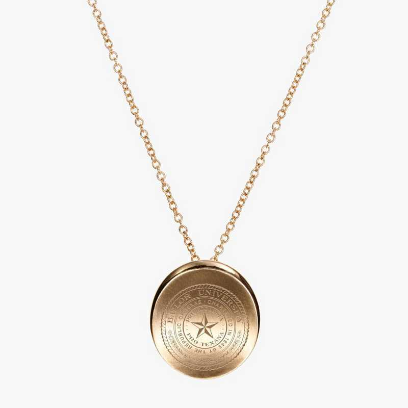 BAY0113: Cavan Gold Baylor Organic Necklace by KYLE CAVAN