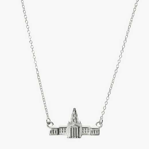 BAY0206: Sterling Silver Baylor Pat Neff Necklace by KYLE CAVAN