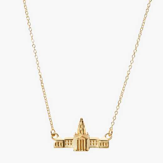 BAY0207AU: 14k Yellow Gold Baylor Pat Neff Necklace by KYLE CAVAN