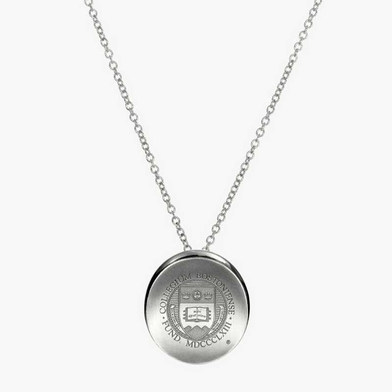 BC0112: Sterling Silver BC Organic Necklace by KYLE CAVAN