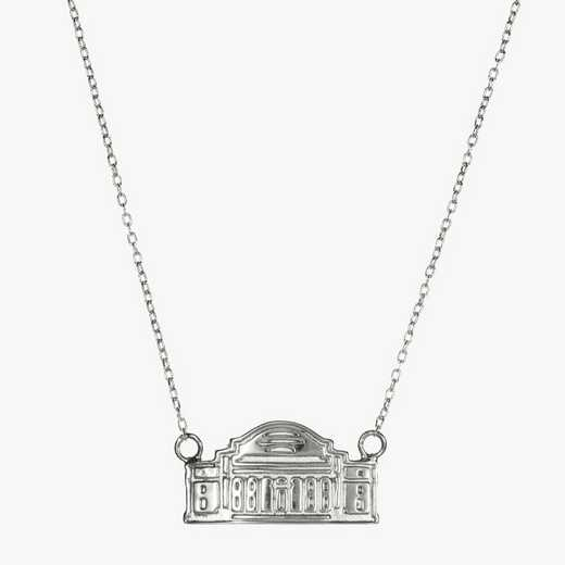 CLM0206: Sterling Silver Columbia Low Library Necklace by KYLE CAVAN