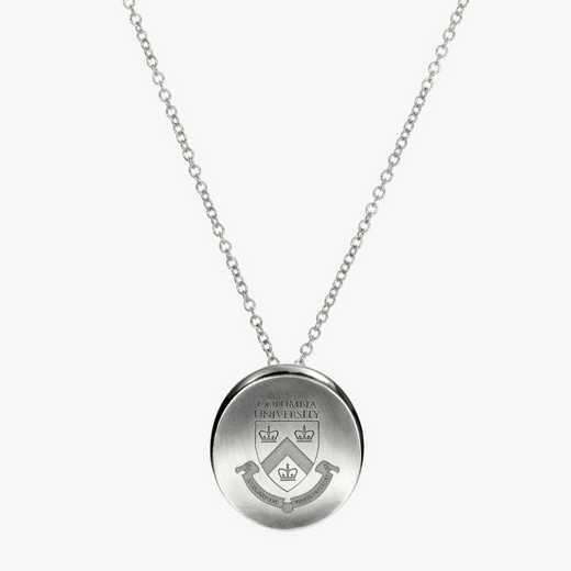 CLM0112: Sterling Silver Columbia Organic Necklace by KYLE CAVAN